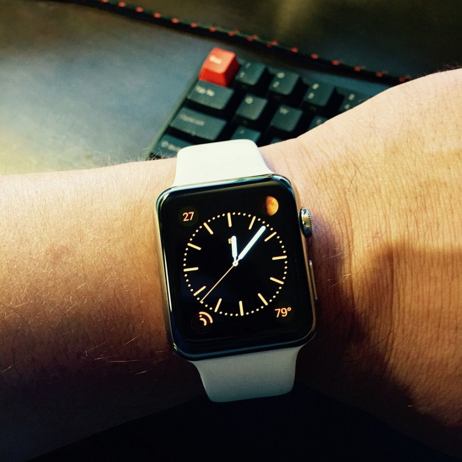Apple Watch, 42mm, stainless steel
