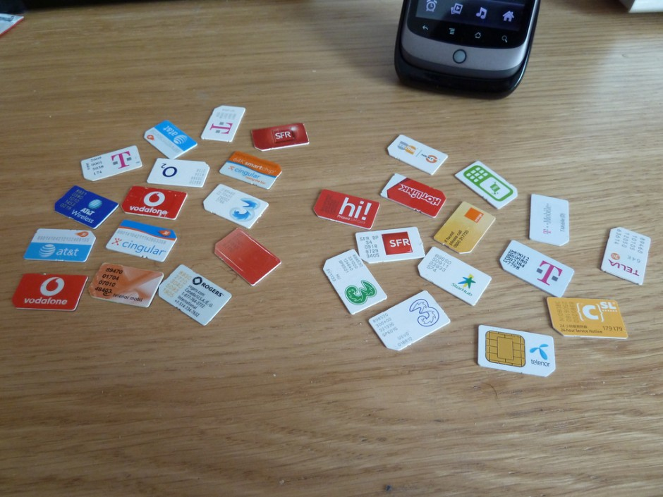 30 SIM cards (#30 is in my Nexus One)