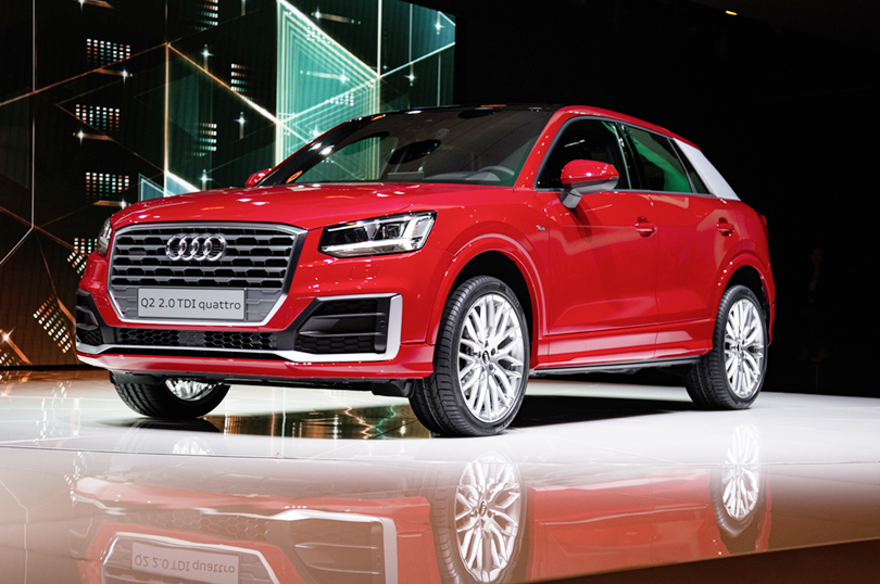 The new Audi Q2, Geneva International Motor Show 2016.